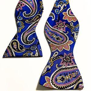 Lauren Ralph Lauren Paisley Bow Tie